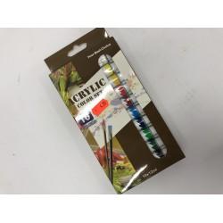 Акрилни бои 10 цвята