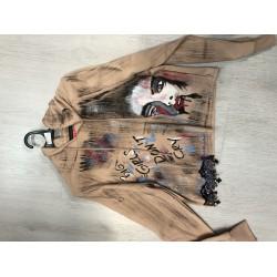 дамско дънково яке
