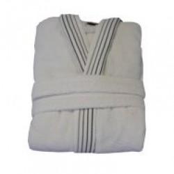 Халат за баня Елегант XL бяло