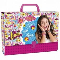 Детска картонена чанта Soy Luna