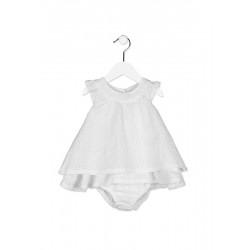 Бебешка дантелена рокля Losan