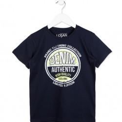 Тениска Losan, в тъмно синьо, за момче