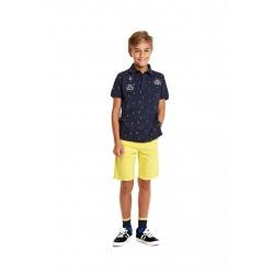 Детски бермуди Losan, в жълт цвят, за момче
